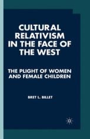 Cultural Relativism in the Face of the West