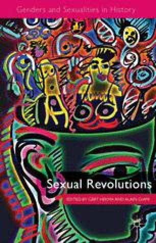 Sexual Revolutions An Introduction Springerlink