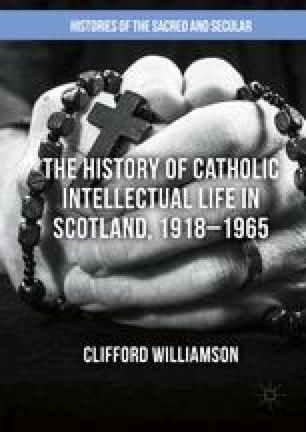 James E  Handley and the Scottish Catholic Historical