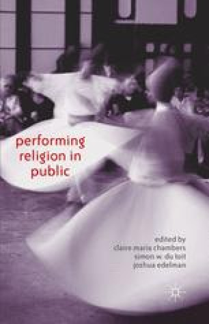 religion theatre and performance gharavi lance