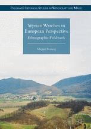 Witchcraft in the Region under Research   SpringerLink