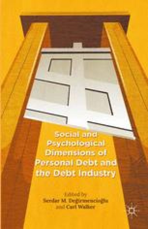 """The Social Construction of """"Indebted Man"""": Economic Crisis"""