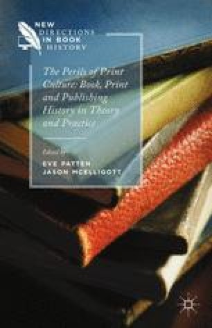 Print Culture And The Perils Of Practice Springerlink