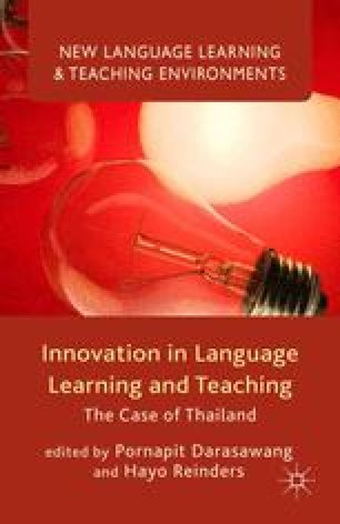 Innovation in Language Teaching: The Thai Context   SpringerLink