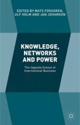 Knowledge networks and power the uppsala school of international knowledge networks and power the uppsala school of international business fandeluxe Gallery