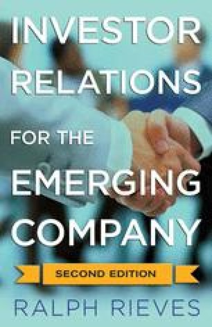 Investor Relations for the Emerging Company