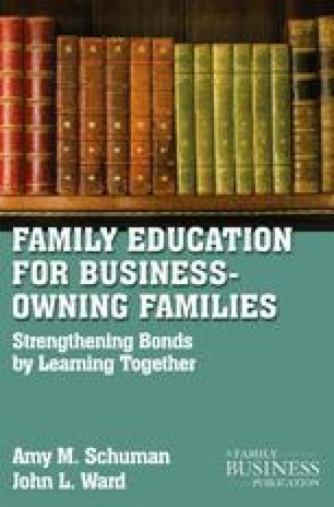 Family Education for Business-Owning Families