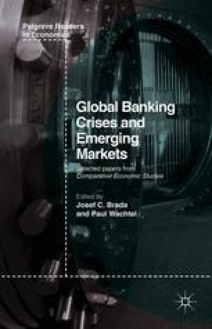 Global Banking Crises and Emerging Markets