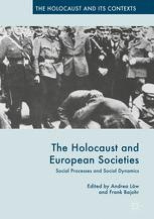 The Holocaust and European Societies