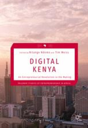 The Internet Journey for Kenya: The Interplay of Disruptive