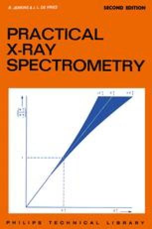 Practical X-Ray Spectrometry