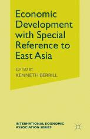 Economic Development with Special Reference to East Asia