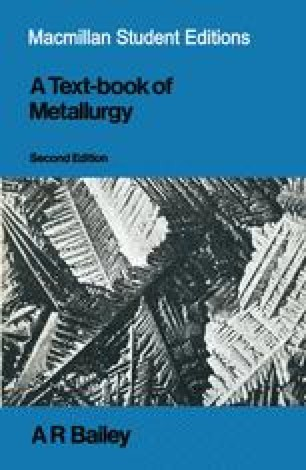 A Text-Book of Metallurgy