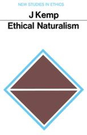 Ethical Naturalism: Hobbes and Hume