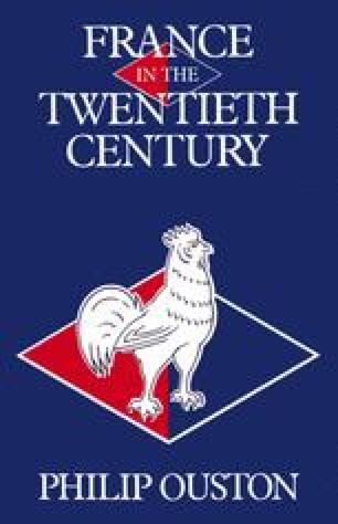 France in the Twentieth Century