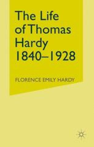 The Life of Thomas Hardy 1840–1928