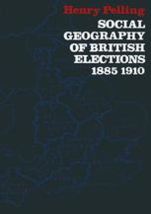 Social Geography of British Elections 1885–1910