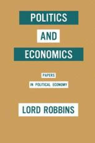 Politics and Economics