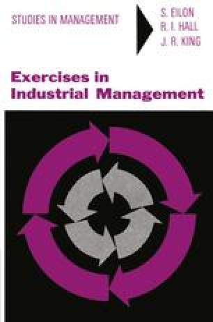 Exercises in Industrial Management