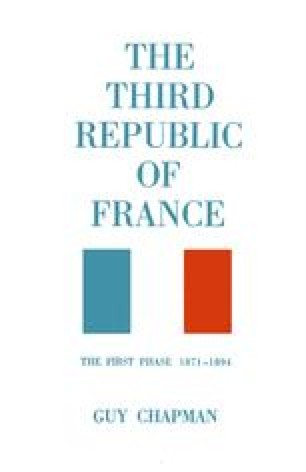 The Third Republic of France