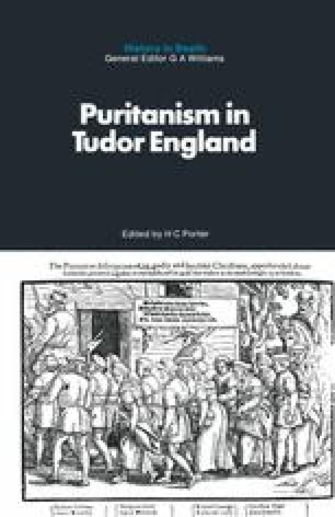 Puritanism in Tudor England