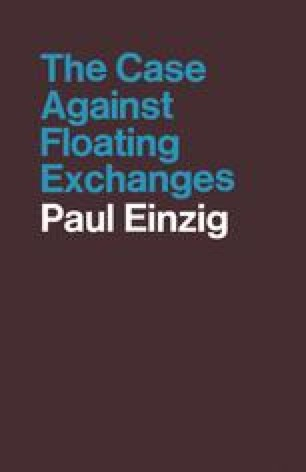 The Case against Floating Exchanges