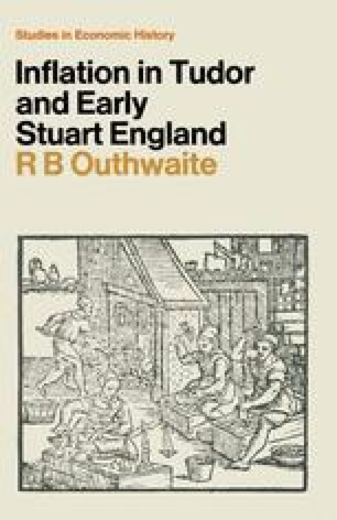 Inflation in Tudor and Early Stuart England