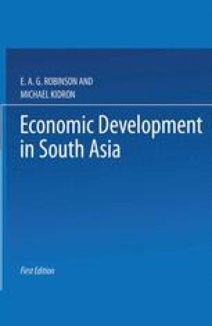 Economic Development in South Asia