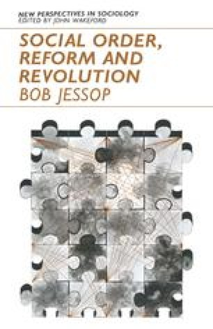 Social Order, Reform and Revolution