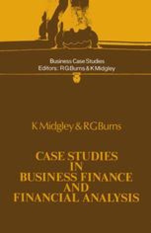 Case Studies in Business Finance and Financial Analysis
