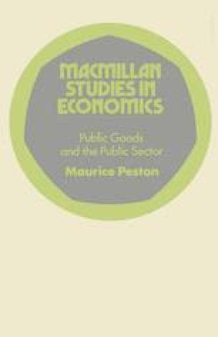 Public Goods and the Public Sector