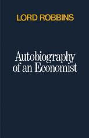 Autobiography of an Economist