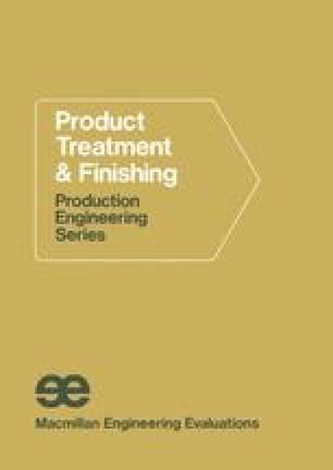 Product Treatment & Finishing