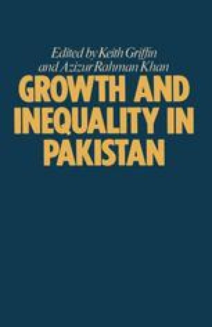 Growth and Inequality in Pakistan