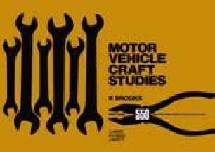 Part 1 Motor Vehicle Craft Studies