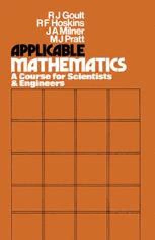 Applicable Mathematics
