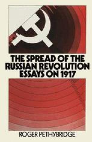 The Spread of the Russian Revolution