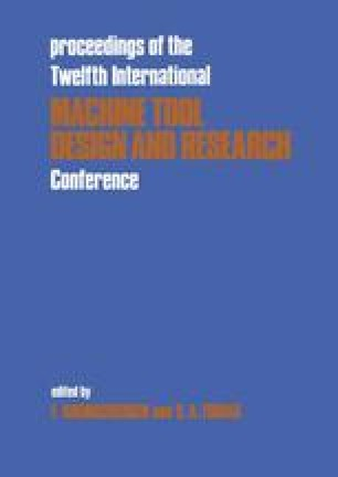 Proceedings of the Twelfth International Machine Tool Design and Research Conference