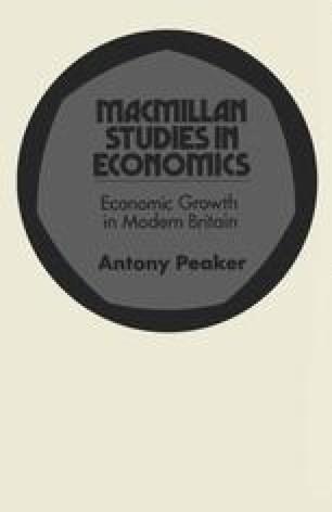 Economic Growth in Modern Britain