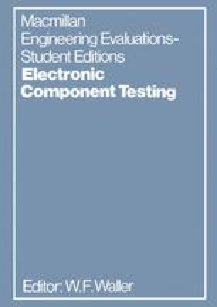 Electronic Component Testing