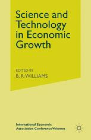 Science and Technology in Economic Growth