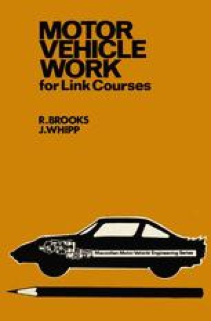 Motor Vehicle Work for Link Courses