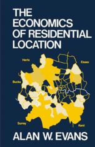 The Economics of Residential Location