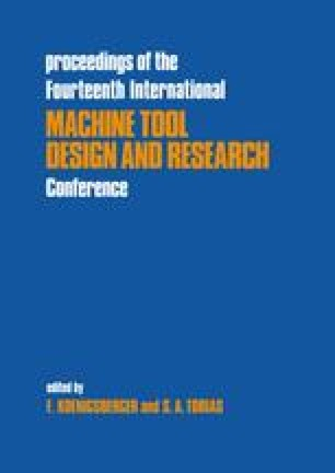 Proceedings of the Fourteenth International Machine Tool Design and Research Conference