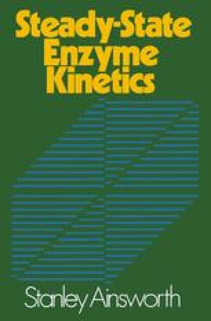 Steady-State Enzyme Kinetics
