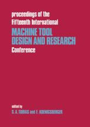 Proceedings of the Fifteenth International Machine Tool Design and Research Conference