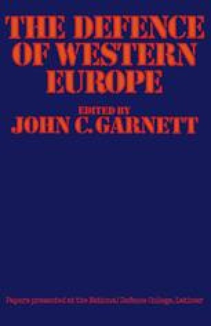 The Defence of Western Europe