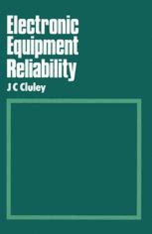 Electronic Equipment Reliability