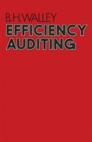 Efficiency Auditing