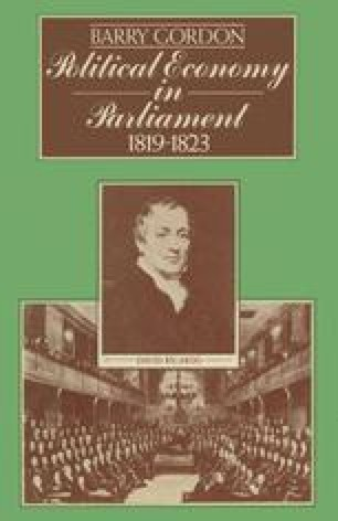 Political Economy in Parliament 1819–1823